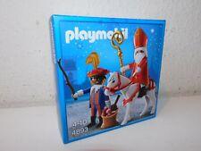 4893  Sinterklaas zwarte piet set new mib neu ovp Playmobil