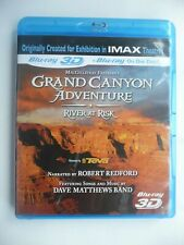 IMAX - Grand Canyon Adventure - River At Risk (3D Blu-ray, 2010) Robert Redford