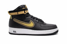 Nike Airforce 1 High 07 LV8 Trainers / Sneakers - Black/Gold: Size 7 UK