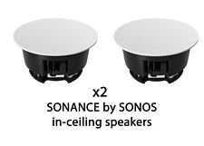 Sonance by Sonos 2 Speakers Pair in ceiling, wall, trueplay (INCLGWW1 ) (sonus)