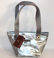 Prima Classe borsa spalla grigio silver media Alviero Martini originale donna