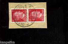 Briefmarke--Mit SONDERSTEMPEL--Olsberg--1942