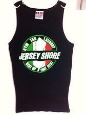 Jersey Shore Gym Tan Laundry Singlet GTL Gtl Beat Up That Beat Italia Small New