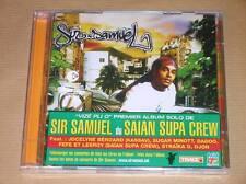 RARE CD AVEC BONUS DVD / SIR SAMUEL DU SAIAN SUPA CREW / VIZE PLI O / NEUF CELLO