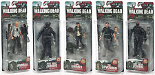 The Walking Dead TV Series 4: Action Figure Set Governor/Carl/Andrea & 2 Zombies