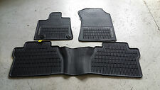 NEW OEM 2014-2015 & UP TOYOTA TUNDRA DOUBLE CAB ALL WEATHER MATS 3-PIECE SET