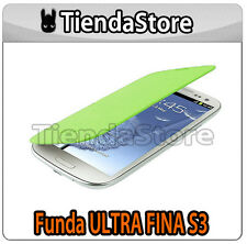 Funda FINA compatible GALAXY S3 I9300 - Carcasa delgada protector pantalla VERDE