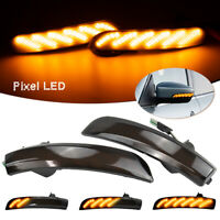 Wing Mirror LED Side Indicator Turn Signal Light For Ford Kuga Escape EcoSport
