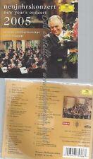 CD--WIENER PHILHARMONIKER UND JOHANN STRAUSS--NEUJAHRSKONZERT 2005