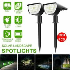 4Pcs Solar Lamps Spotlight 32Led Outdoor Yard Garden Patio Lawn Lights Landscape