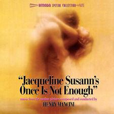 UNE FOIS NE SUFFIT PAS (ONCE IS NOT ENOUGH) MUSIQUE DE FILM - HENRY MANCINI (CD)