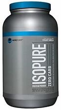 Isopure Zero Carb Protein Powder Creamy Vanilla 3 Pounds Nature's Best