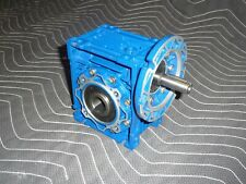 "Motovario Gear Box Speed Reducer NRV/050, 40:1, 1""""d Output Bore"