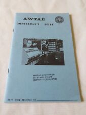 1967 AWTAE Countermans Guide Automobile Customers Service Guide