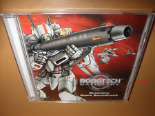 ROBOTECH BATTLECRY game SOUNDTRACK cd EXCLUSIVE macross sdf-1 harmony gold