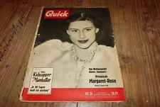 Quick 31/1953 Nick Knatterton von Manfred Schmidt