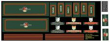 WRENN HORNBY DUBLO WEST COUNTRY  CONVERSION SET 2 3 NEW NAMES LHP HD 068A