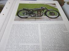 Motorrad Archiv Rennmodelle 2129b AJS 346 ccm ohc 1938
