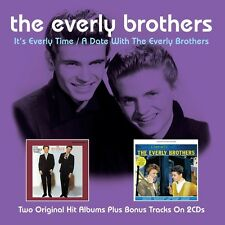 THE EVERLY BROTHERS - IT'S EVERLY TIME 2 CD NEU