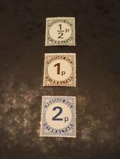 GIBRALTAR 1971  SG D4,D5,D6  Postage Due mnh