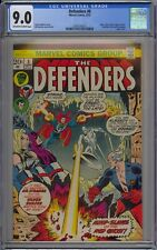 Defenders #8 CGC 9.0 VF/NM OwWp Vs. Red Ghost Marvel Comics 1973 Silver Surfer