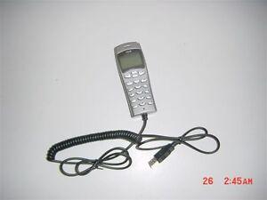STOCK LOT 5 PZ PHONE SKYPE VOIP USB LCD VUP-200