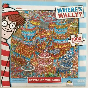 Where's Wally Puzzle Battle of the Bands Jigsaw 1000 Piece 60.9x45.7cm (24x18in)