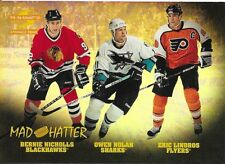 95/96 Pinnacle Summit Mad Hatter Nicholls Nolan Lindros 1
