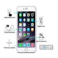 Cristal templado protector pantalla PREMIUM Para iphone 7 4,7' 0,3mm 2D Vidrio