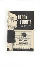 Portsmouth Away Team League Cup Football Programmes