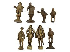 Collection of 8 Brass Bronze Pipe Tampers