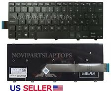 Keyboard Spanish DELL Inspiron 14 3000 Series 3441 3442 5447 3458 Black