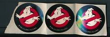 3 Vintage 1984 Ghostbusters Stickers Video Store Promo Item