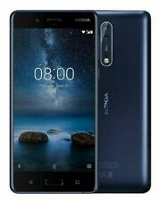 NOKIA 8 64GB - Débloqué Téléphone - Bleu - Android Smartphone Warranty WIFI