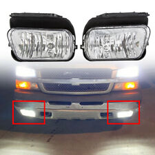 Bumper Fog Lights Lamps Pair Left+Right For 2003-2006 Chevy Silverado Avalanche