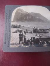 Stereo View Stereo Card - Gibraltar