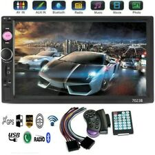 7inch HD 2 Din Touch Screen Car Stereo MP5 FM Player Radio Android IOS USB/TF US