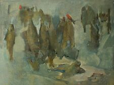 """Drying"" Original author`s style still life Oil and pastel media by Lozovoy"