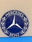 Mercedes Vintage Logo Reproduction Garage Sign