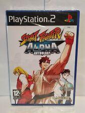 Street Fighter Alpha Anthology - PS2 - Pal français - Neuf / New & sealed