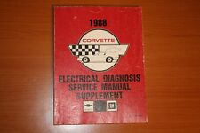 1988 ChevyCorvette Electrical Diagnosis Service Manual Supplement St-364-88 Edm
