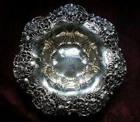 Sterling Silver Dominick & Haff Ornate Flower Bowl