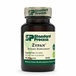 Standard Process Zypan, Supports Macronutrient Digestion, 90 Tablets