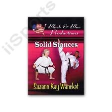 Martial Arts Top Kata Tips Leg Strengthening Dvd Suzanne Kay Wancket karate new