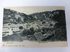 AK Postkarte Rübeland im Harz Dorfansicht antik 1907 Gebäude