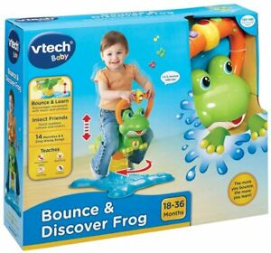 Vtech Baby Bounce & Discover Frog Set Melodies, Songs New Kids Xmas Toy Age 18m+