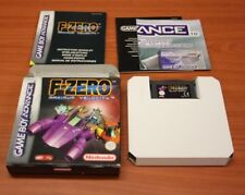 jeu Nintendo Game Boy Advance gba  F-Zero Maximum Velocity