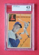 Topps 1954 Ted Williams #1 Graded Baseball card Baseball card