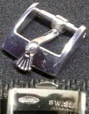 Original Vintage Rolex Buckle Fibbia 10mm inner Stainless Steel Excellent L@@K !
