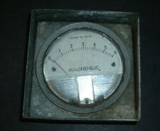 dwyer magnehelic water gauge 1 to 6 inches of water in metal housing untested
